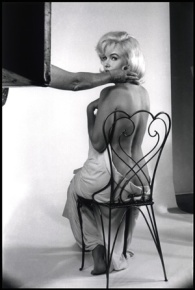 foto Marilyn vista da Eve Arnold