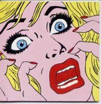 Gif Roy Lichtenstein volto