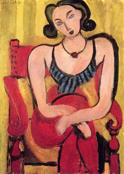 pittura Henri Matisse woman