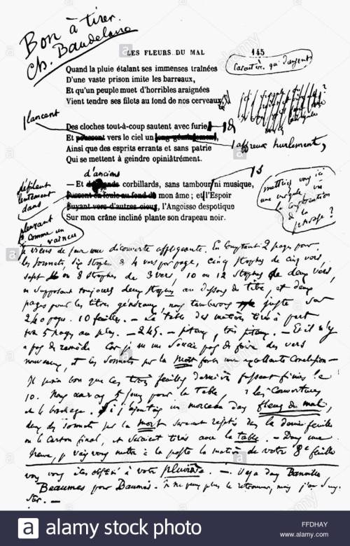 baudelaire-spleen-1857-npage-from-the-poem-spleen-with-authors-notes-FFDHAY