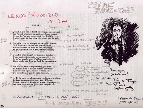Baudelaire spleen métodique