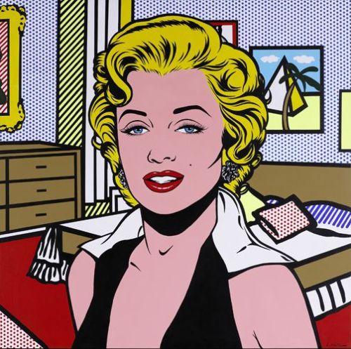 Gif Marilyn Monroe (1996) Roy Lichtenstein