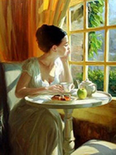 wallace stevens sunny-breakfast