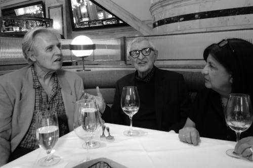 Alfredo de Palchi, Gerard Malanga e Rita