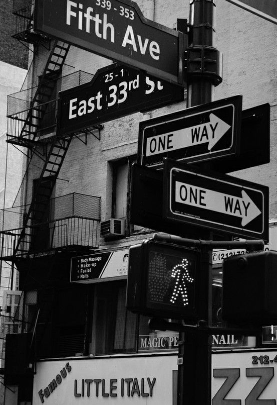 Foto New York traffic