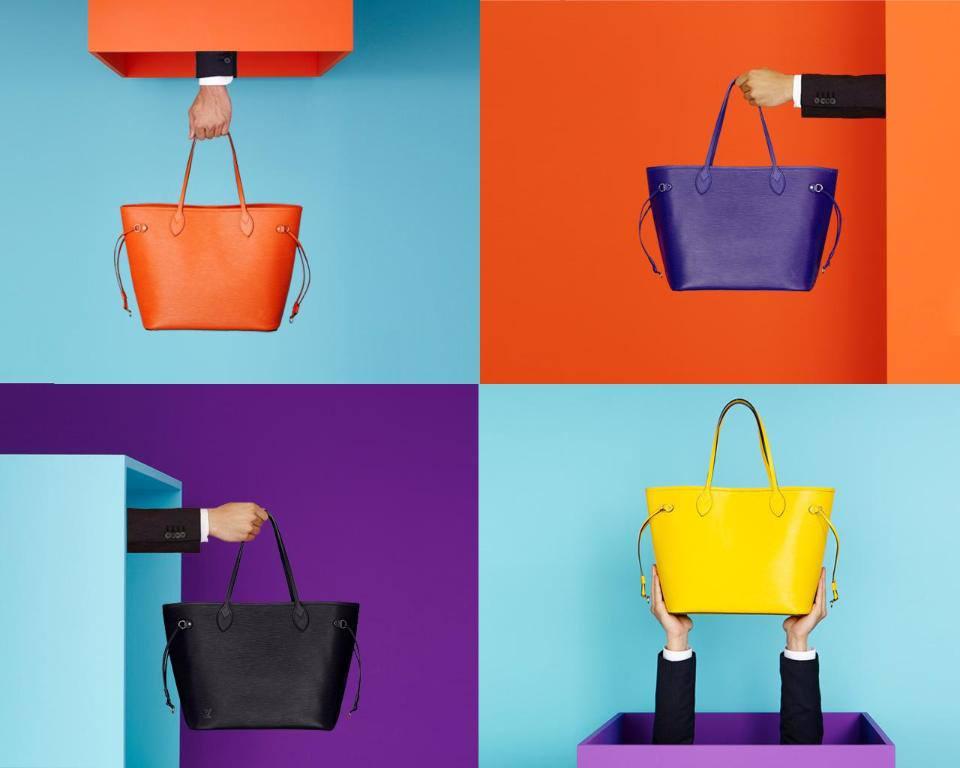 foto ipermoderno La classica Neverfull Louis Vuitton