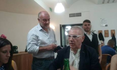 Giorgio Linguaglossa e Alfredo rienzi Accettura, 13 agosto 2017
