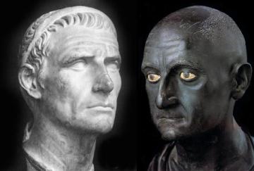 roma da sx Antioco re di Siria e Scipione l'africano