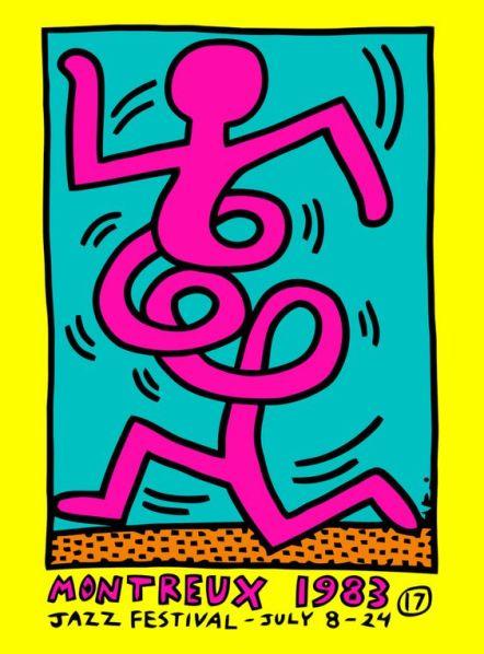 Foto Keith Haring 1983