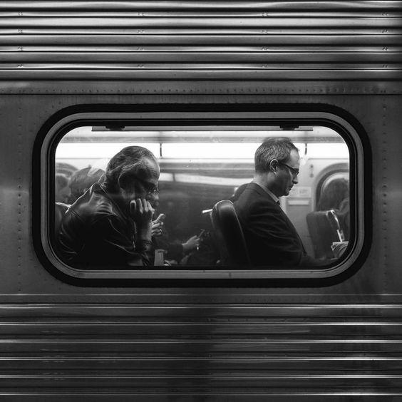 Foto in metro