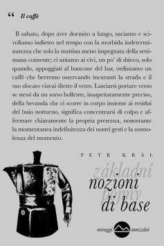 Petr Kral Nozioni di base 2 poesia