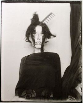 Foto Man Ray Bronislava Nijinska, Paris, 1922