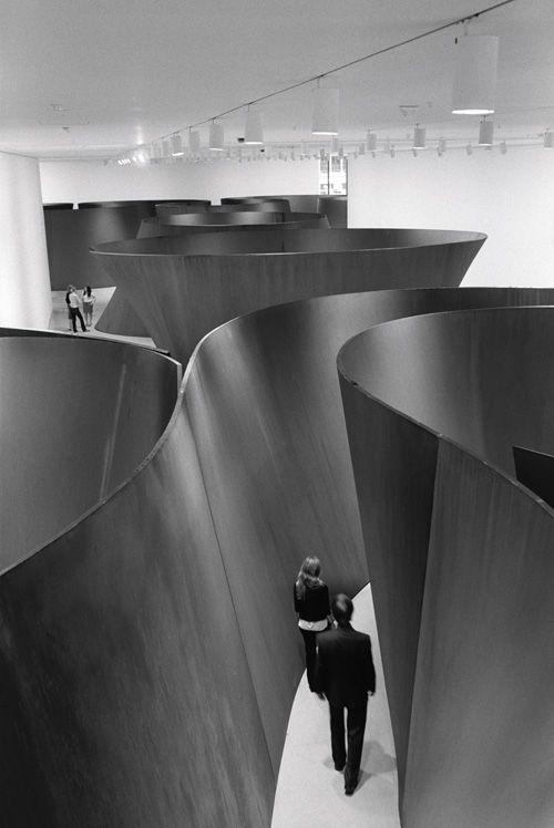 Foto Richard Serra (1939) the labirint