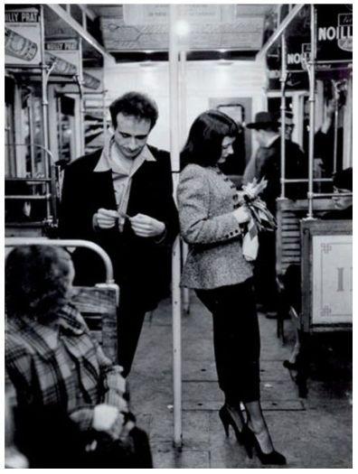 Foto Robert Doisneau metrò 1956