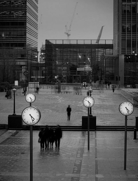 Foto Jason Langer, Canary Wharf no. 1, 2008