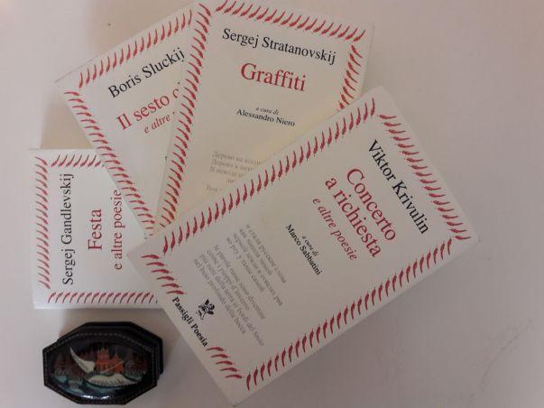 passigli_poesia Dal 2013 la casa editrice Passigli propone una collana interamente dedicata alla poesia russa del Novecento e contemporanea