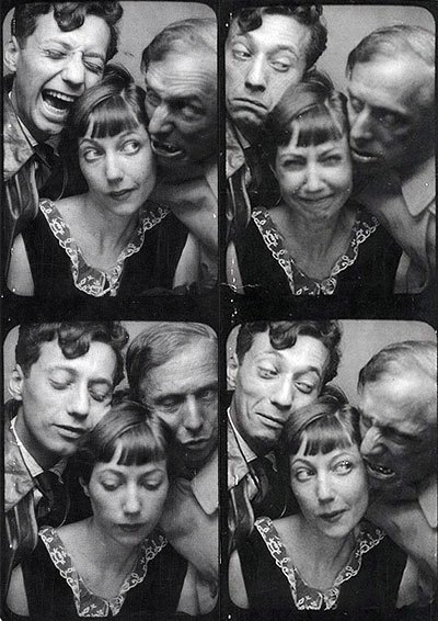 Selfie Jean Aurenche, Marie Berthe Aurenche and Max Ernst