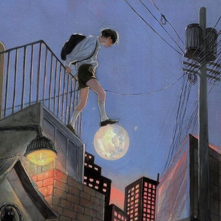 Foto Bambino e luna