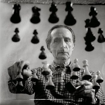 Foto Duchamp par Man Ray