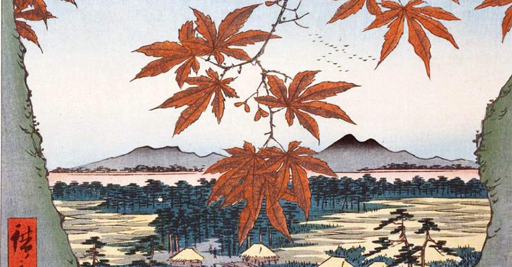 Haiku giappone hiroshige-foglie-di-avero-a-mama1