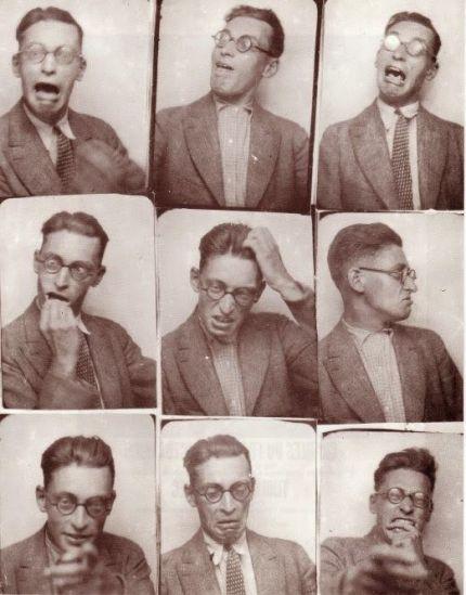 selfie Raymond Queneau