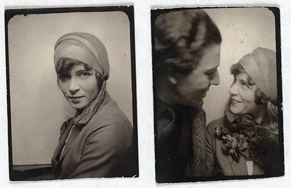 Selfie Suzanne Muzard and André Breton, 1929
