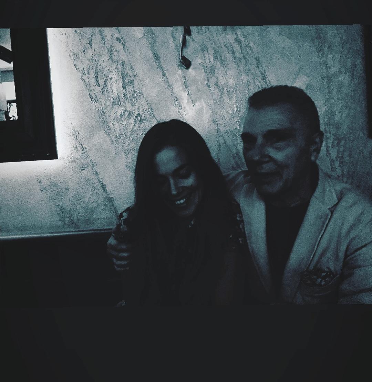 Giorgio Linguaglossa e Alejandra 9 ott 2018