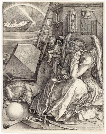 Albrecht Durer Angelo malinconico