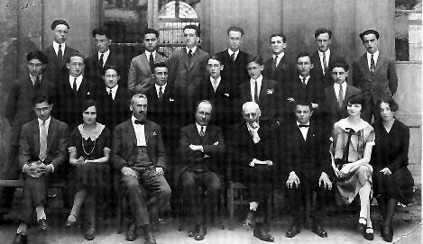 cesare pavese_liceo_d'azeglio 1923 secondo a sx