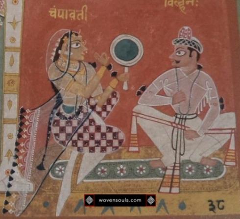 chaurapanchasika textile-art