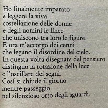 Valerio Magrelli Ora serrata retinae
