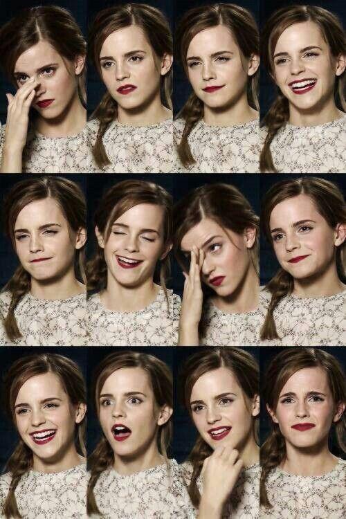 Foto Emma Watson selfie