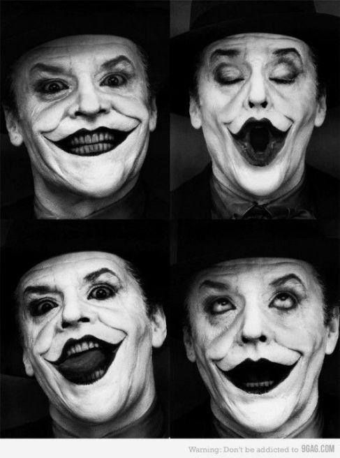 Foto selfie Jack Nicholson
