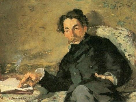 mallarme ritratto di Edouard Manet
