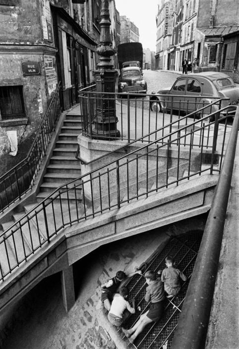 Foto Willy Ronis Les enfants de Belleville 1959