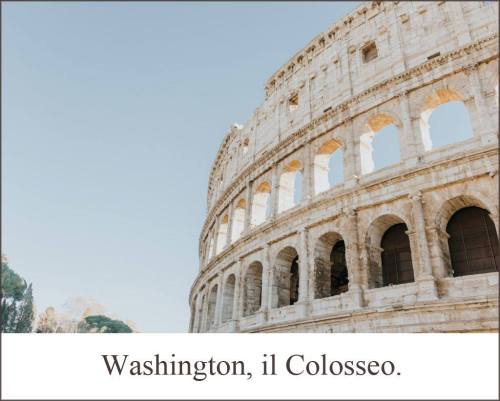 foto Lucio Mayoor Tosi Washington Il Colosseo