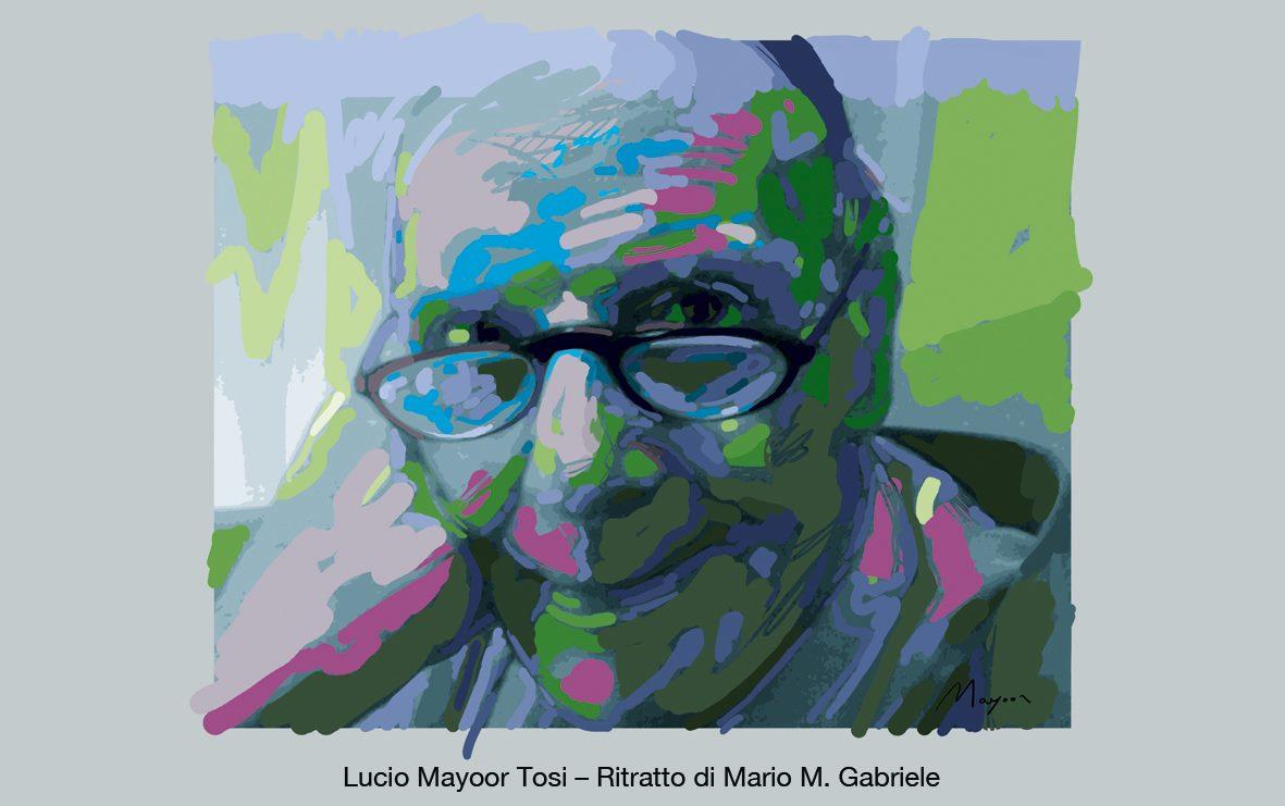 Lucio Mayoor Tosi ritratto di Mario Gabriele 2020