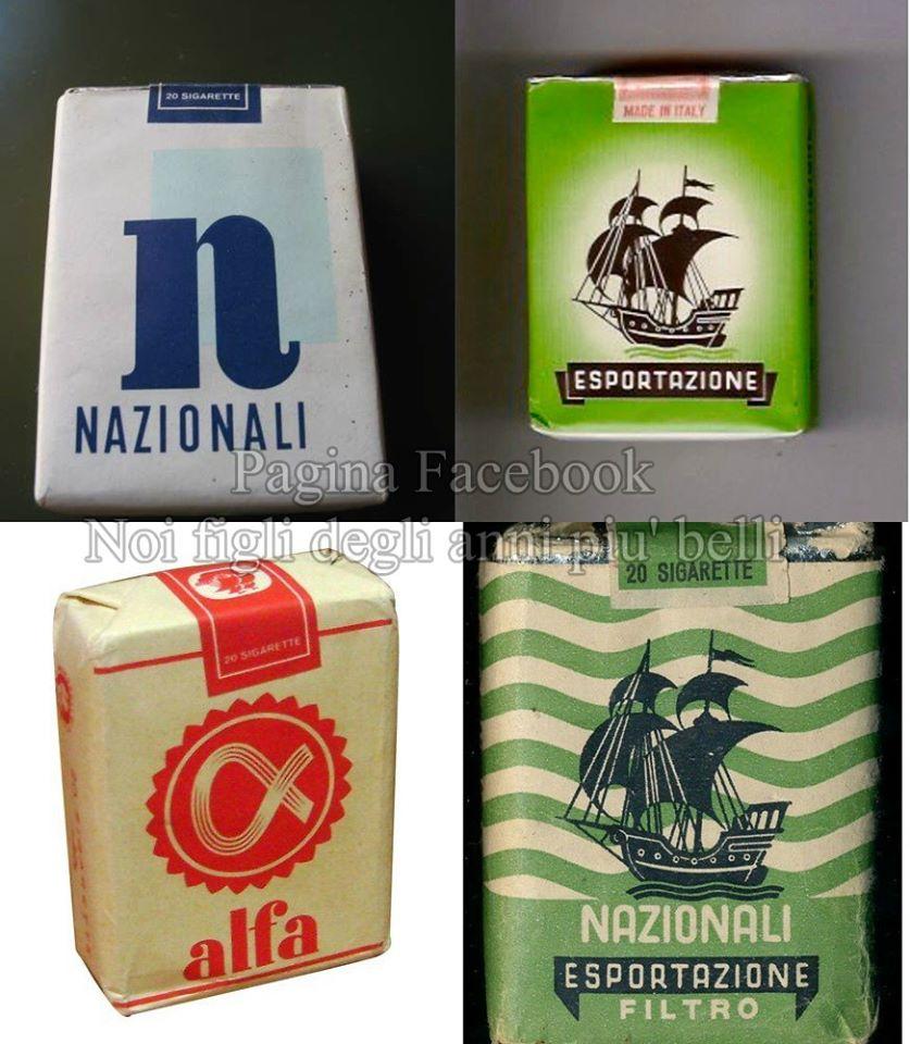 foto Sigarette nazionali