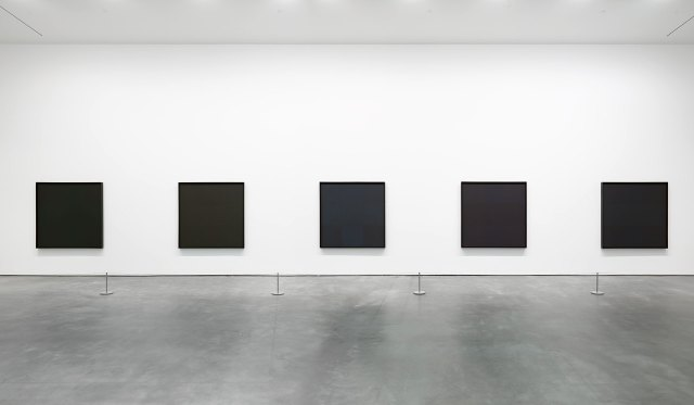 reinhardt black paintings anni 60 David Zwirner Gallery