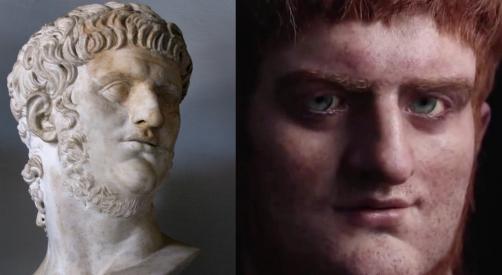 Roma era questo il volto di Nerone