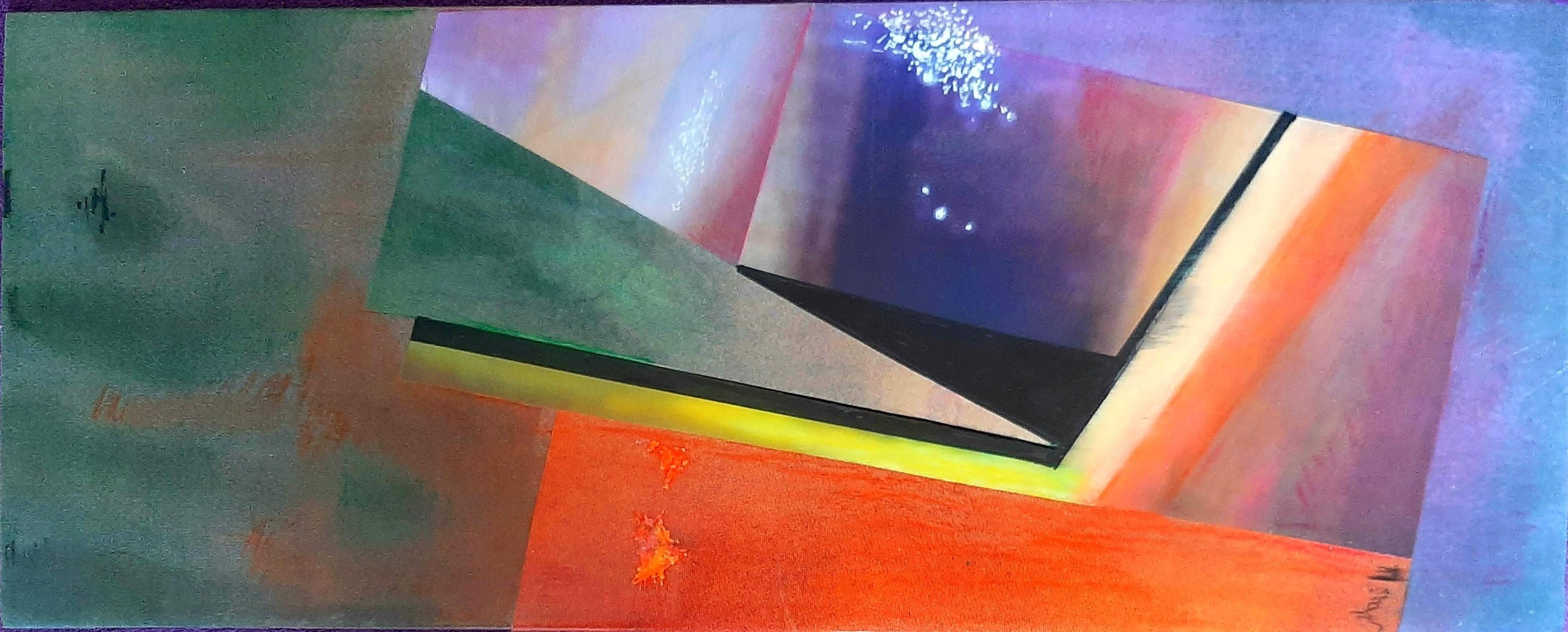 Marie Laure Colasson 20x50 cm acrilico 2020