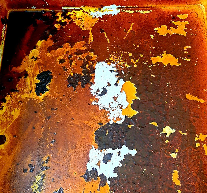 foto Il fondo di un lavabo