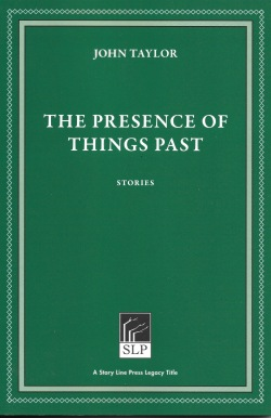 John Taylor The Presence of Things Past-new edition 2