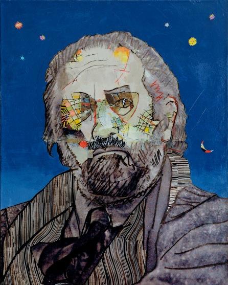 Mario Lunetta, 40x50, 2008