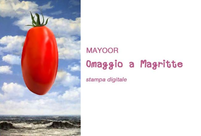 Lucio Mayoor Tosi, stampa digitale, Pomodoro