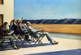 Hopper Gente nel sole