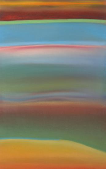 Jacopo Ricciardi, Viaggio 5, pastelli su carta, 120x70cm, 2012.png